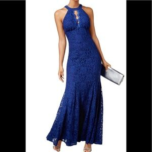Formal Dress Size 12 💥NEW💥 Mermaid Lace Blue
